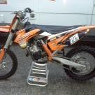 Myytävänä KTM 125 exc ja 125 sx