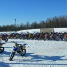 Sarjacross-enduro näytöskilpailu 2.3.2014 Marttilassa