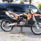 KTM 250 SX-F  Ready to race—>