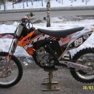 Myydään – Motocross auto + KTM 350 SXF